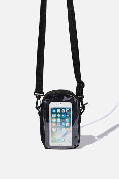 Cross Body Bag, MULTI BLACK