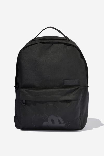 Premium Alumni Backpack Rnp, LCN DIS MICKEY HEAD BLACK