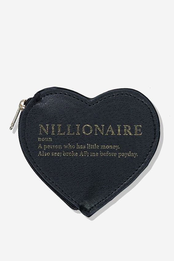 Novelty Coin Purse, NILLIONAIRE