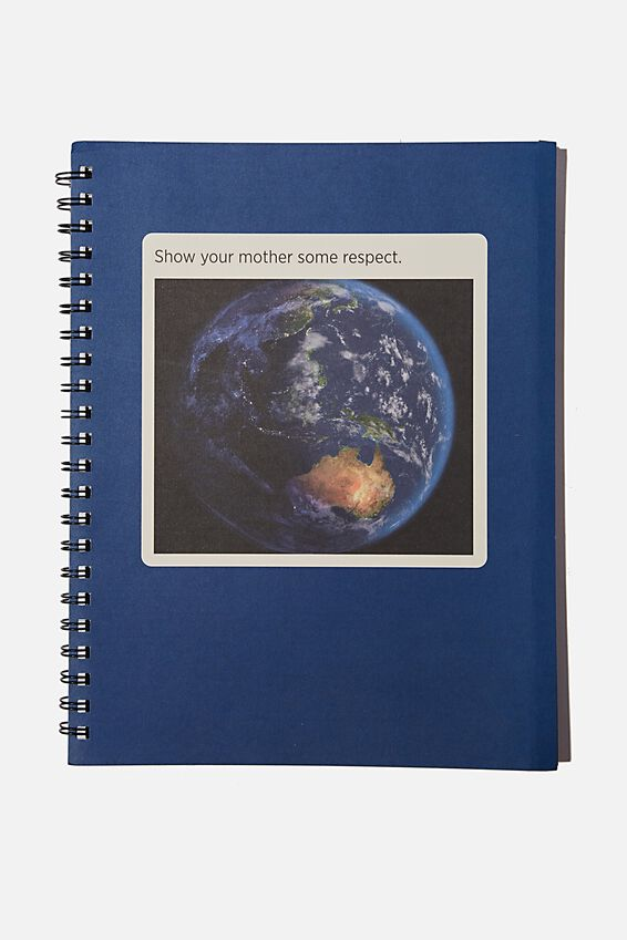A4 Campus Notebook Recycled, SOME RESPECT