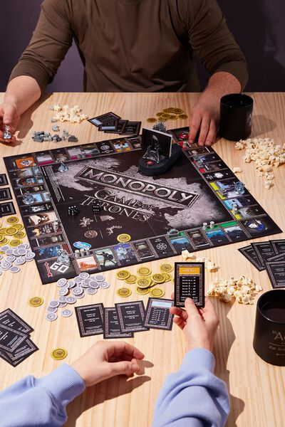 Monopoly Board Game, GAME OF THRONES
