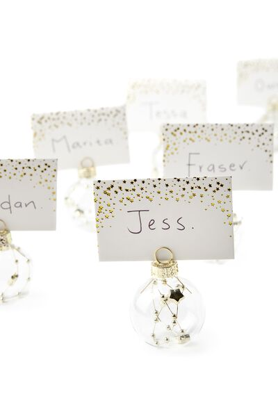 Premium Name Cards & Holders, BAUBLES