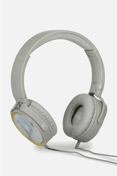 Reverb Headphones, MARBLE
