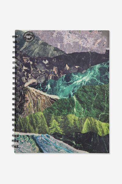 A4 Campus Notebook - Rec, WILDERNESS COLLAGE