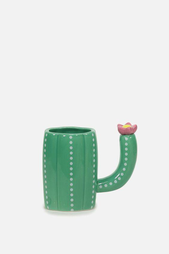 Novelty Shaped Mug, CACTUS