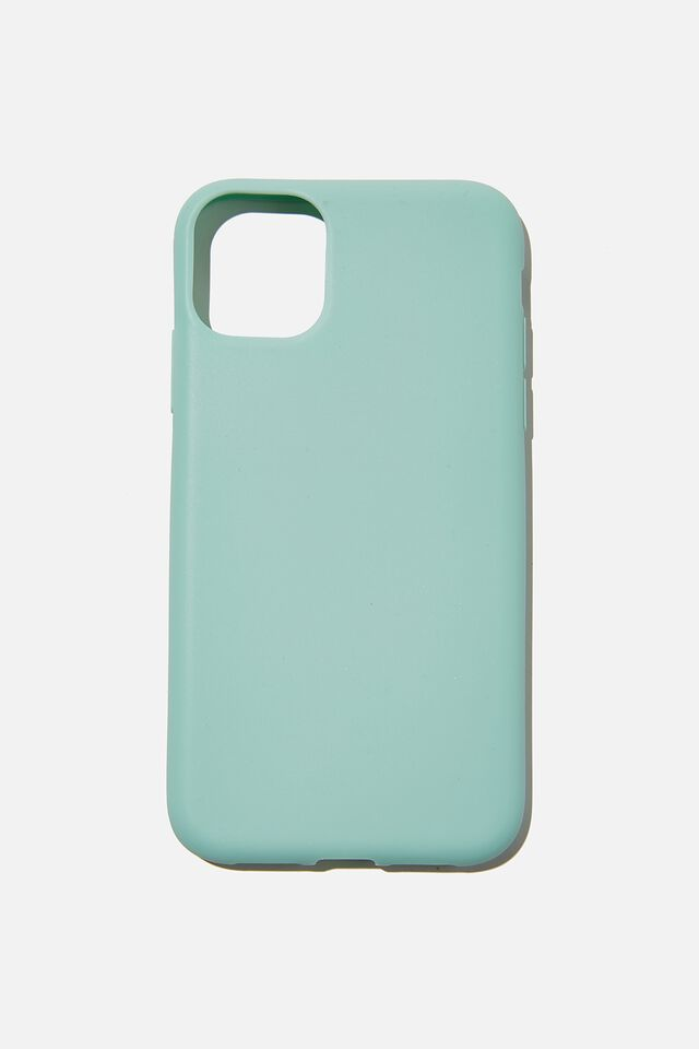 Recycled Phone Case iPhone 11, WATER BLUE