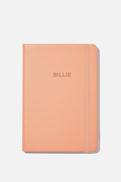 A5 Buffalo Journal Personalised, WELSH SLATE