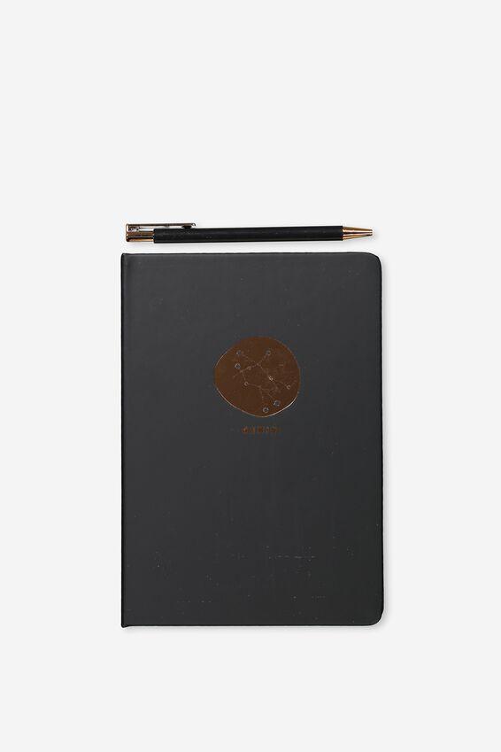 Notebook And Pen Set, ZODIAC GEMINI