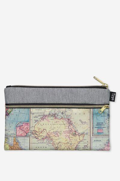 Archer Pencil Case, MARLE MAP
