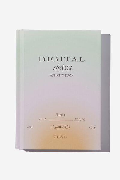 A6 Activity Journal, DIGITAL DETOX VOL.2