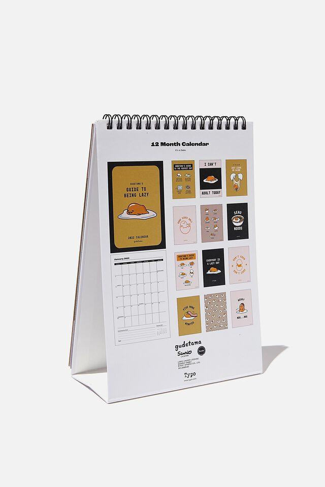 2022 Get A Date Desk Calendar, LCN SAN GUDETAMA