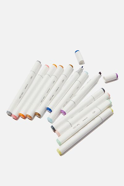 Creative Dual Markers 12Pk, PASTEL