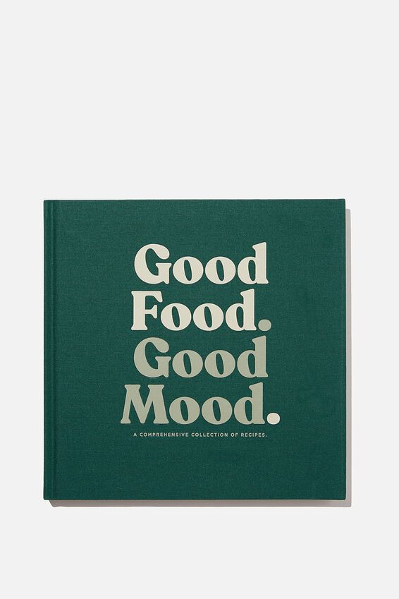 A5 Activity Book, GOOD FOOD GOOD MOOD VOL.2