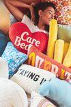 Care Bears Canvas Cushy Cushion, LCN CLC CARE BEARS