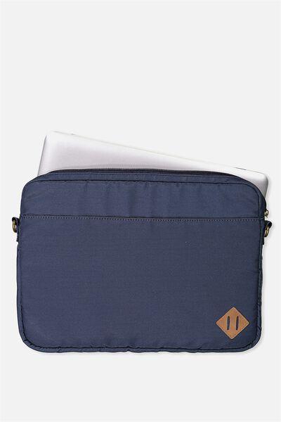 Handle It Laptop Case, NAVY