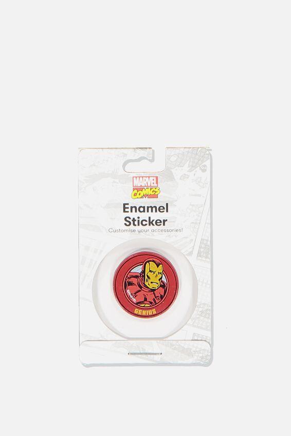 Enamel Stickers, LCN MAR IRON MAN