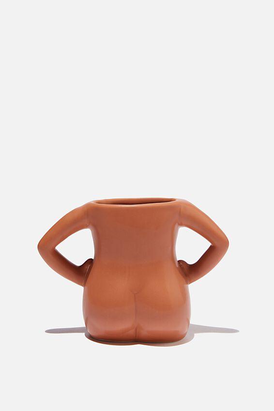 Novelty Shaped Mug, HOURGLASS BODY