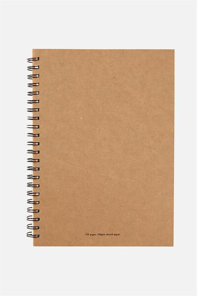 Visual Sketch Paper Diary Large, CRAFT