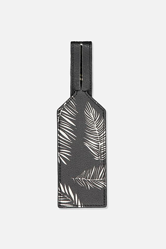 Wrap Around Bag Tag, FERNERY
