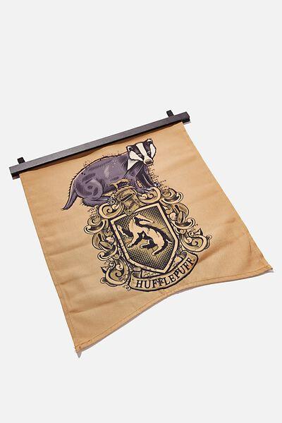 Banner Wall Flag, LCN WB HP HUFFLEPUFF