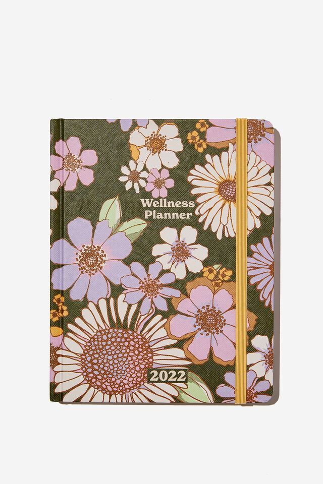 2022 Small Weekly Wellness Planner, SUNNIE FLORAL