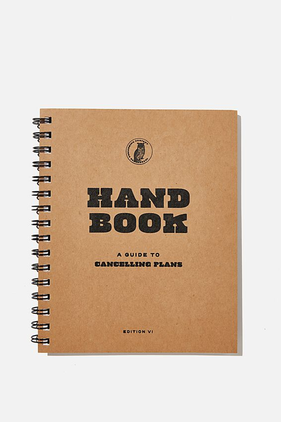 A5 Campus Notebook Recycled, HANDBOOK GUIDE TO CANCELLING PLANS