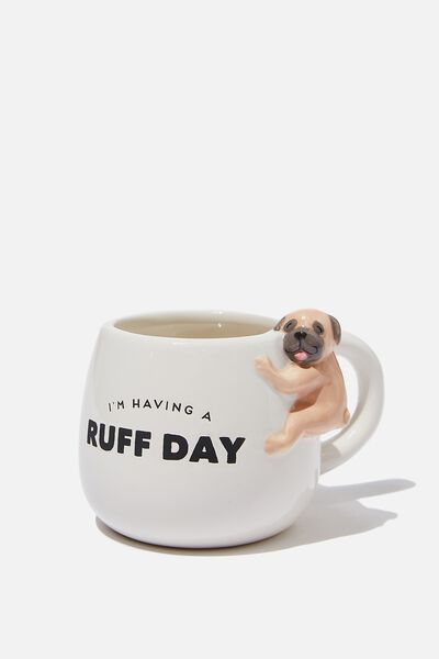 Novelty Shaped Mug, DOUG THE PUG