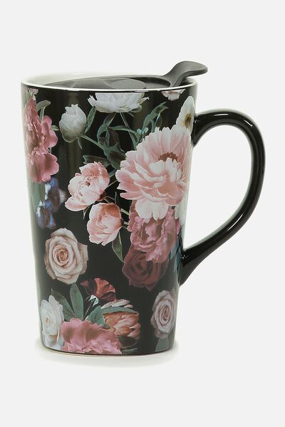 Nomad Travel Mug, FLORAL