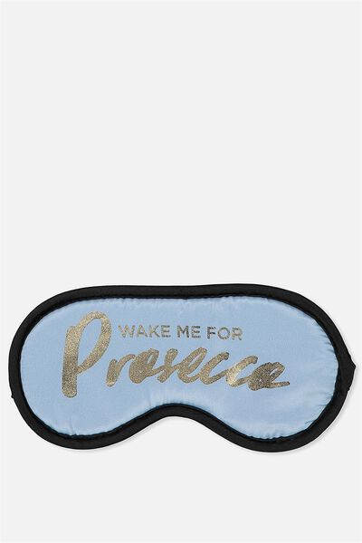 Premium Sleep Eye Mask, PROSECCO!