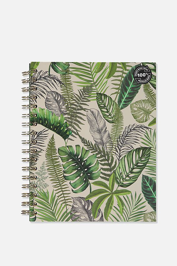 Ultimate Spiral Notebook, FOLIAGE