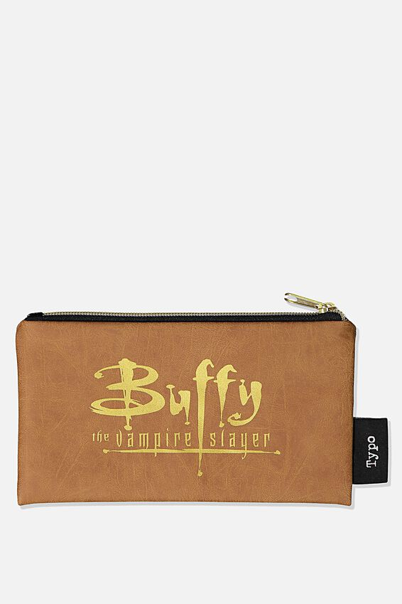 Buffy The Vampire Slayer Graduate Pencil Case, LCN FOX BU BUFFY LOGO