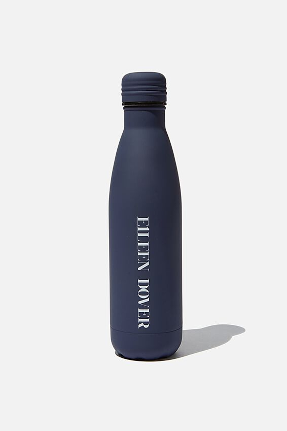 Metal Drink Bottle, DARK BLUE