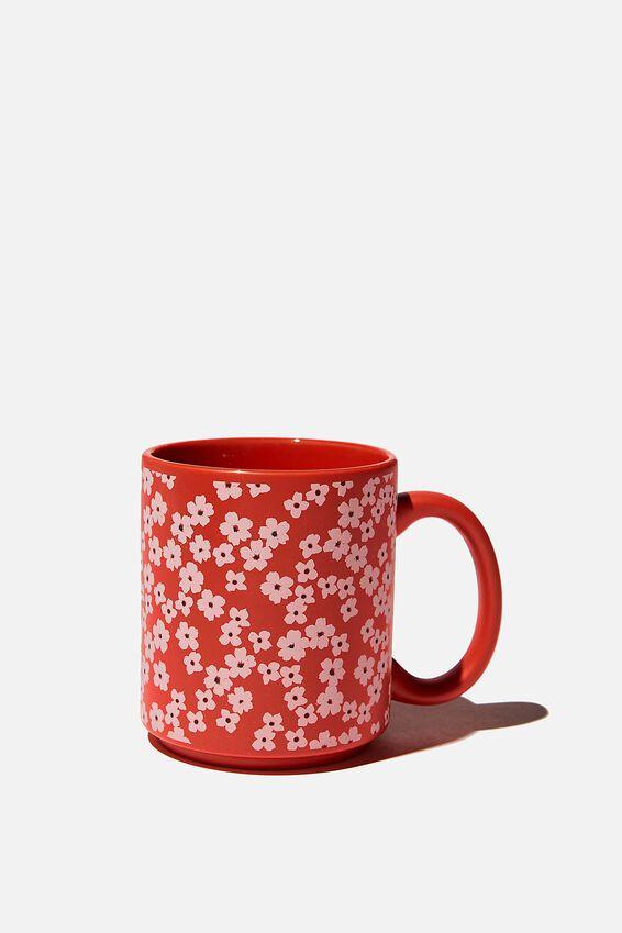 Daily Mug, RG TRUE RED CHERRY BLOSSOM