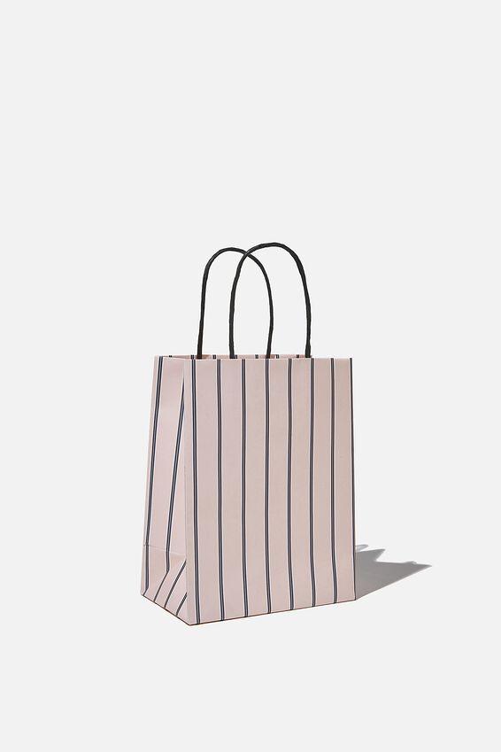 Get Stuffed Gift Bag - Small, JUSTIN STRIPE