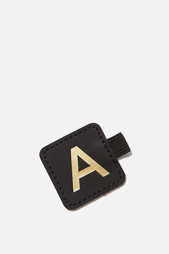 Pen Loop Sticker, BLACK A