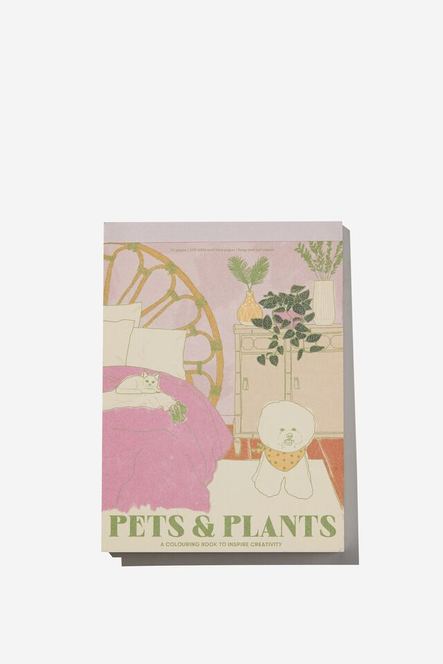 Artists Assistant Post Card, PETS AND PLANTS VOL.3