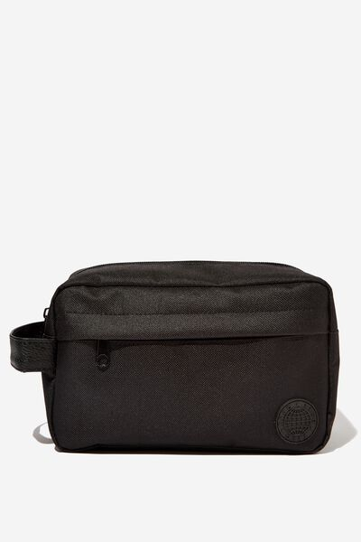 Daily Wash Bag, BLACK
