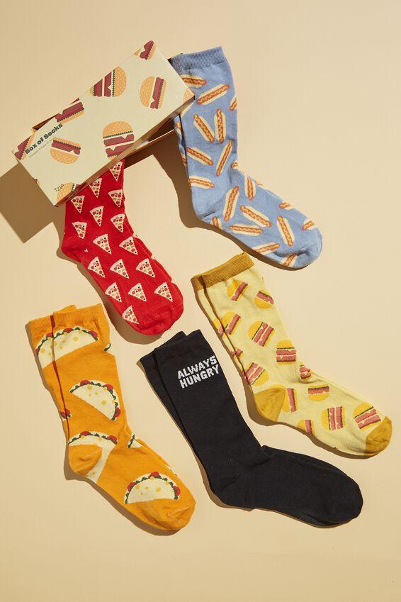 Box Of Socks, ALWAYS HUNGRY FOOD