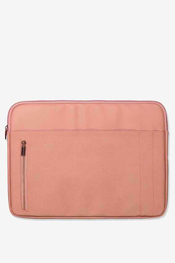 Take Charge 15 Inch Laptop Cover, DUSTY PINK