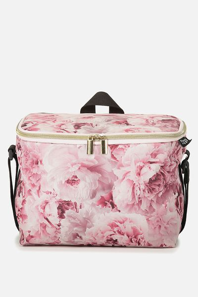 Cooler Lunch Bag, PEONIES