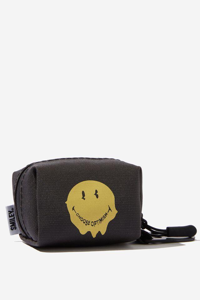 Smiley Dog Poop Bag, LCN SMI SMILEY WARPED