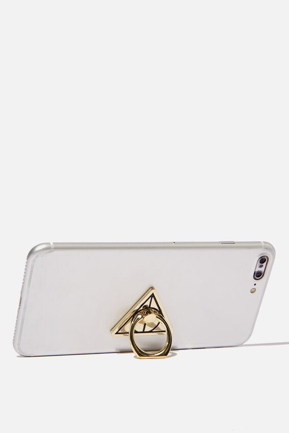 Harry Potter Metal Phone Ring, LCN WB DEATHLY HALLOWS