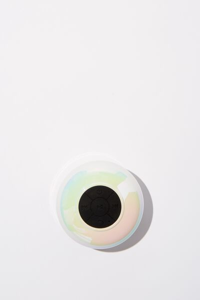 Wireless Shower Speaker, PEARLESCENT