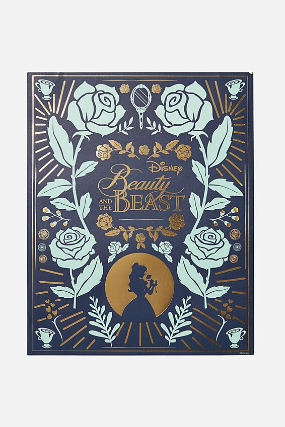 40 X 50 Limited Edition Print, LCN DIS GN BEAUTY & THE BEAST