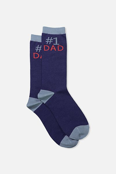 Mens Novelty Socks, # 1 DAD