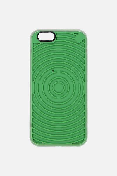 Novelty Phone Cover 6, GREEN MAZE