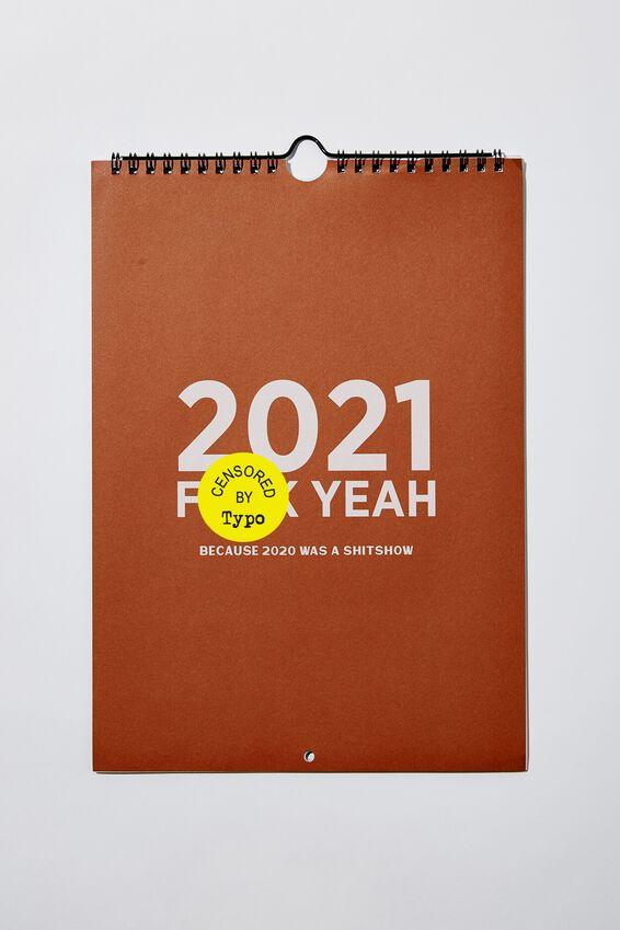 2021 Get A Date Calendar, USA F!!CK YEAH 2021!!