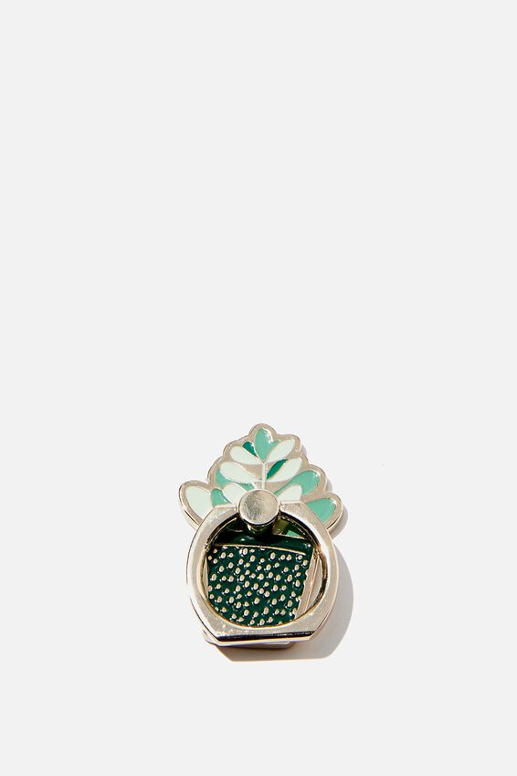 Enamel Phone Ring, POT PLANT