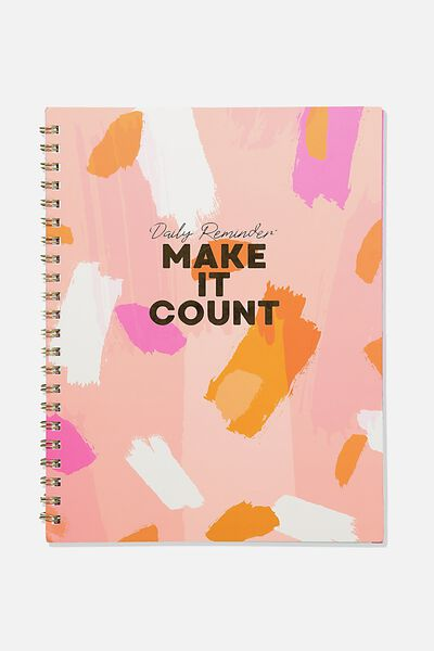 A4 Campus Notebook Recycled, MAKE IT COUNT
