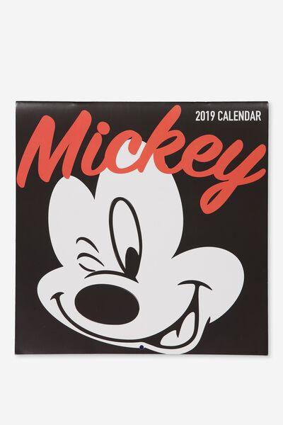 2019 Square Calendar, LCN MICKEY